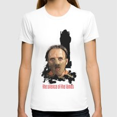 Hannibal Lecter: Monster Madness Series Womens Fitted Tee White SMALL