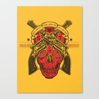 Firefly 57th Brigade Mal's Independents Brigade Canvas Print