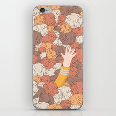 Kirk's Trouble With Tribbles (Star Trek) iPhone & iPod Skin