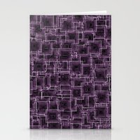 The Maze - Lilac Stationery Cards