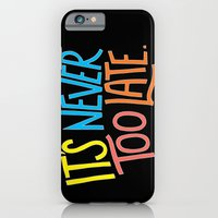 iPhone & iPod Case featuring Never too late by Prince Arora