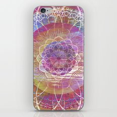 Glitch Mandala iPhone & iPod Skin