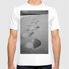 Steps to nowhere Mens Fitted Tee White SMALL
