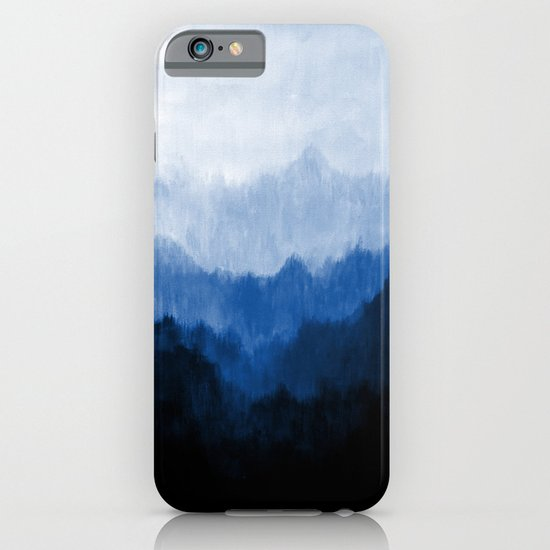 Mists - Blue iPhone & iPod Case