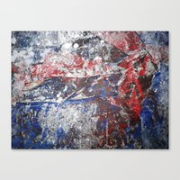 SupermanAbstract Canvas Print