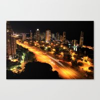 Gold Coast Highway Canvas Print