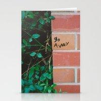 junior school graffiti Stationery Cards