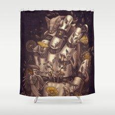 Disperse Shower Curtain
