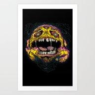 WACK-MAN! Art Print