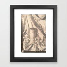 tHe ShOw MuSt Go On Framed Art Print