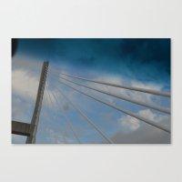 Georgia/South Carolina Bridge Canvas Print