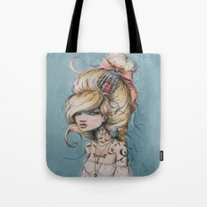 My Caged Heart Tote Bag