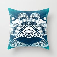 Ubiquitous Bird Collection1 Throw Pillow