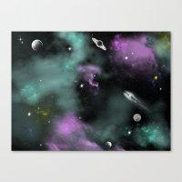 Deeep Space Canvas Print