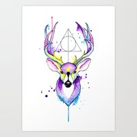 Harry Potter Patronus Art Print