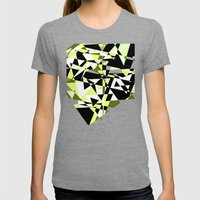 Mountain Trails Womens Fitted Tee Tri-Grey SMALL