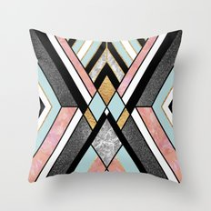 Geo 1 Throw Pillow