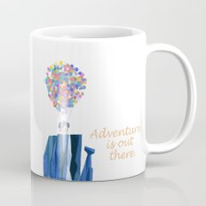 Adventure is out there .. version two Mug