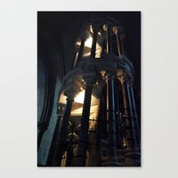 Stairway to.....? Canvas Print