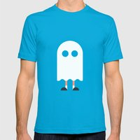 #24 Halloween Mens Fitted Tee Teal SMALL