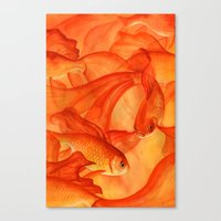 Goldrush Canvas Print