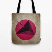 TETHRAEDON SUNSET Tote Bag