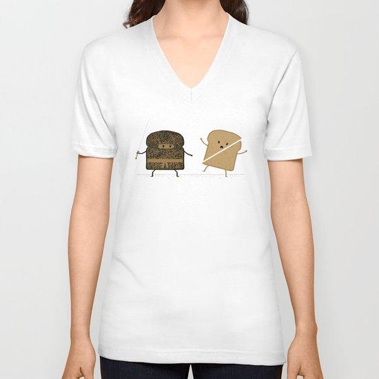 Slice! V-neck T-shirt
