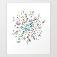 Azalea Blooming Art Print