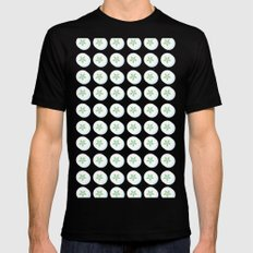You are capable of amazing things SMALL Black Mens Fitted Tee