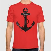 Home  Mens Fitted Tee Red SMALL