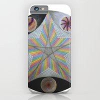 iPhone & iPod Case featuring Galactic Pentagram (ANALOG zine) by johngerGEOs