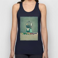 world is better without intolerance Unisex Tank Top