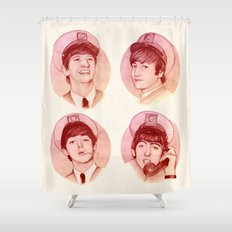 The Fab Four II Shower Curtain