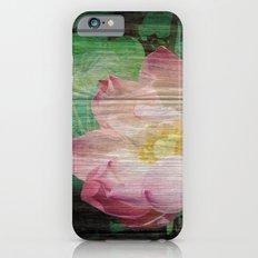 Lotus Woodblock Slim Case iPhone 6s