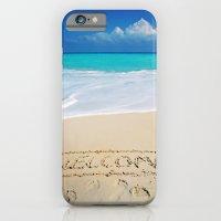 Welcome Home Beach Bum iPhone 6 Slim Case