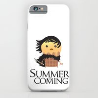 iPhone & iPod Case featuring Summer is Coming by Fuacka