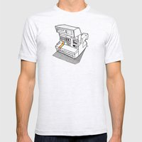 Polaroid Spirit 600 CL Mens Fitted Tee Ash Grey SMALL