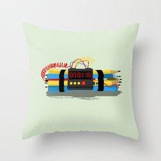 Even ideas bomb Throw Pillow
