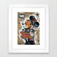 Minny-ot Framed Art Print