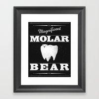 Molar Bear (Gentlemen's … Framed Art Print