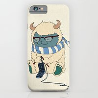 iPhone & iPod Case featuring Knitting Train by Michael Mossner
