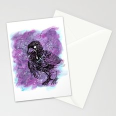 Crying Crow Stationery Cards
