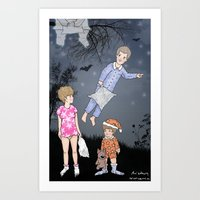 Insomniacs - Once Upon A… Art Print