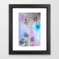 Crystalisis Framed Art Print