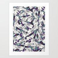 JRDN V GRAPE Art Print
