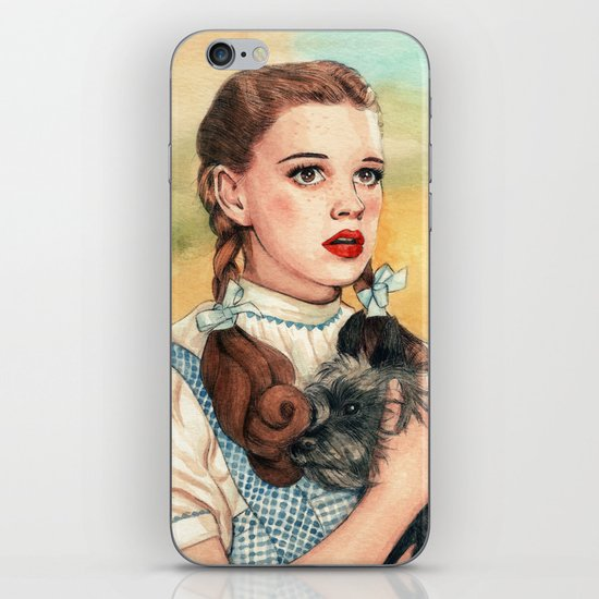 I Don't Think We're In Kansas Anymore iPhone & iPod Skin