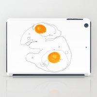 Eggs for breakfast iPad Case