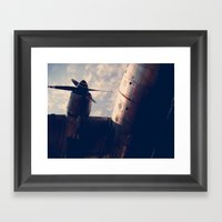 Airplane  Framed Art Print