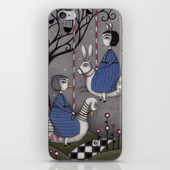 Merry-go-round  iPhone & iPod Skin
