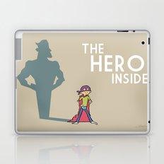 The Hero Inside Laptop & iPad Skin
